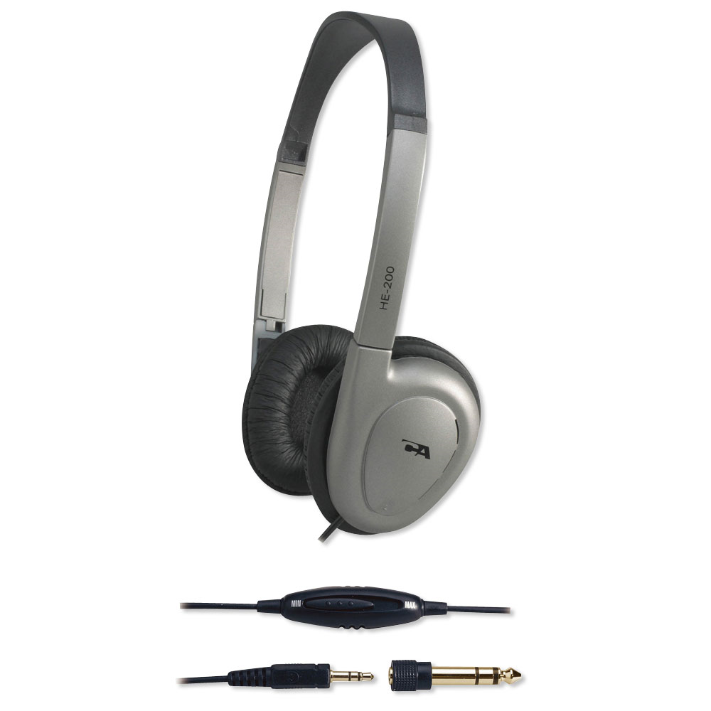 HEADPHONES CYBER ACOUSTICS HE-200RB
