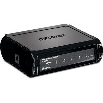 HUB 5 PORT TRENDNET TE100-S5 10/100 SWITCH