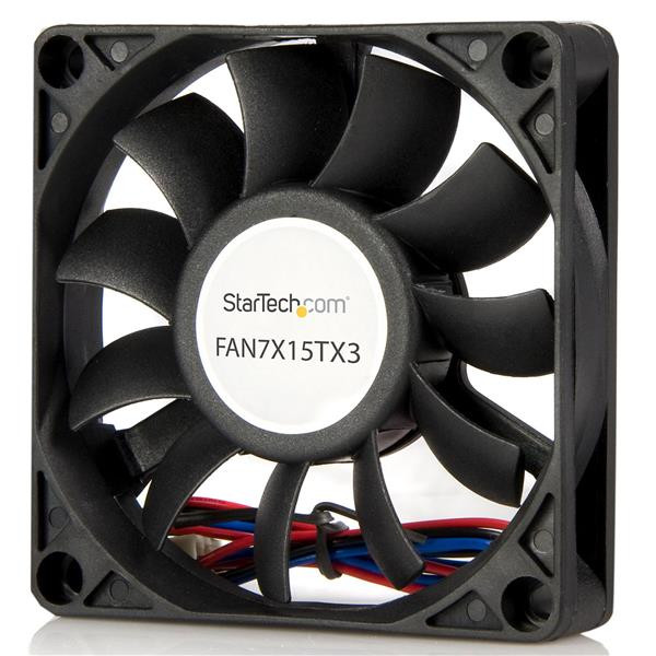 CASE FAN 70MM STARTECH 15MM FAN7X15TX3