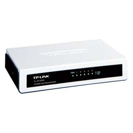 HUB 5 PORT TP-LINK TL-SF1005D 10/100 SWITCH