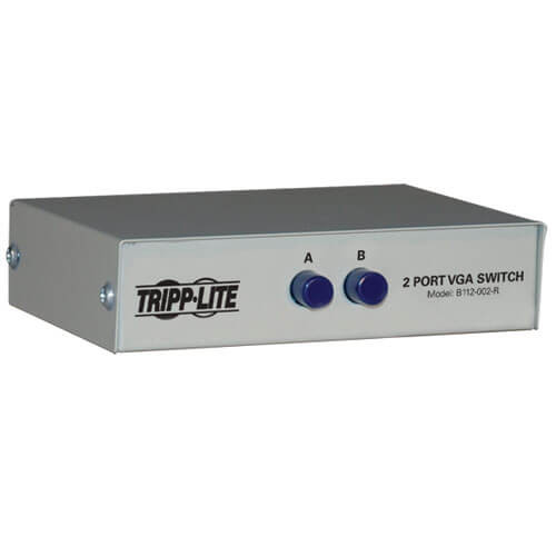 SWITCHBOX VGA 2PORT TRIPP LITE B112-002-R