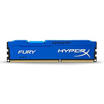 KINGSTON HYPERX FURY 1600MHZ DDR3 4GB CL10 BLUE HX316C10F/4