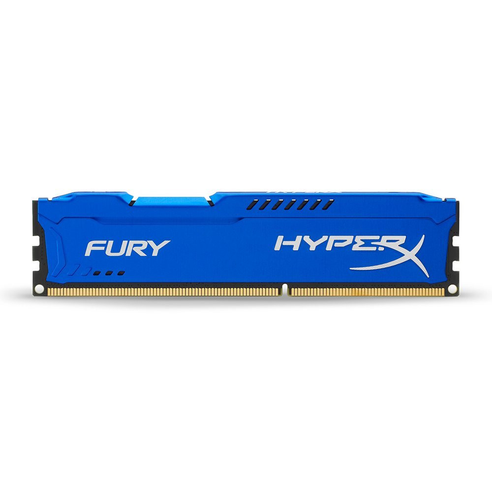 KINGSTON HYPERX FURY 1866MHZ DDR3 4GB CL10 BLUE HX318C10F/4