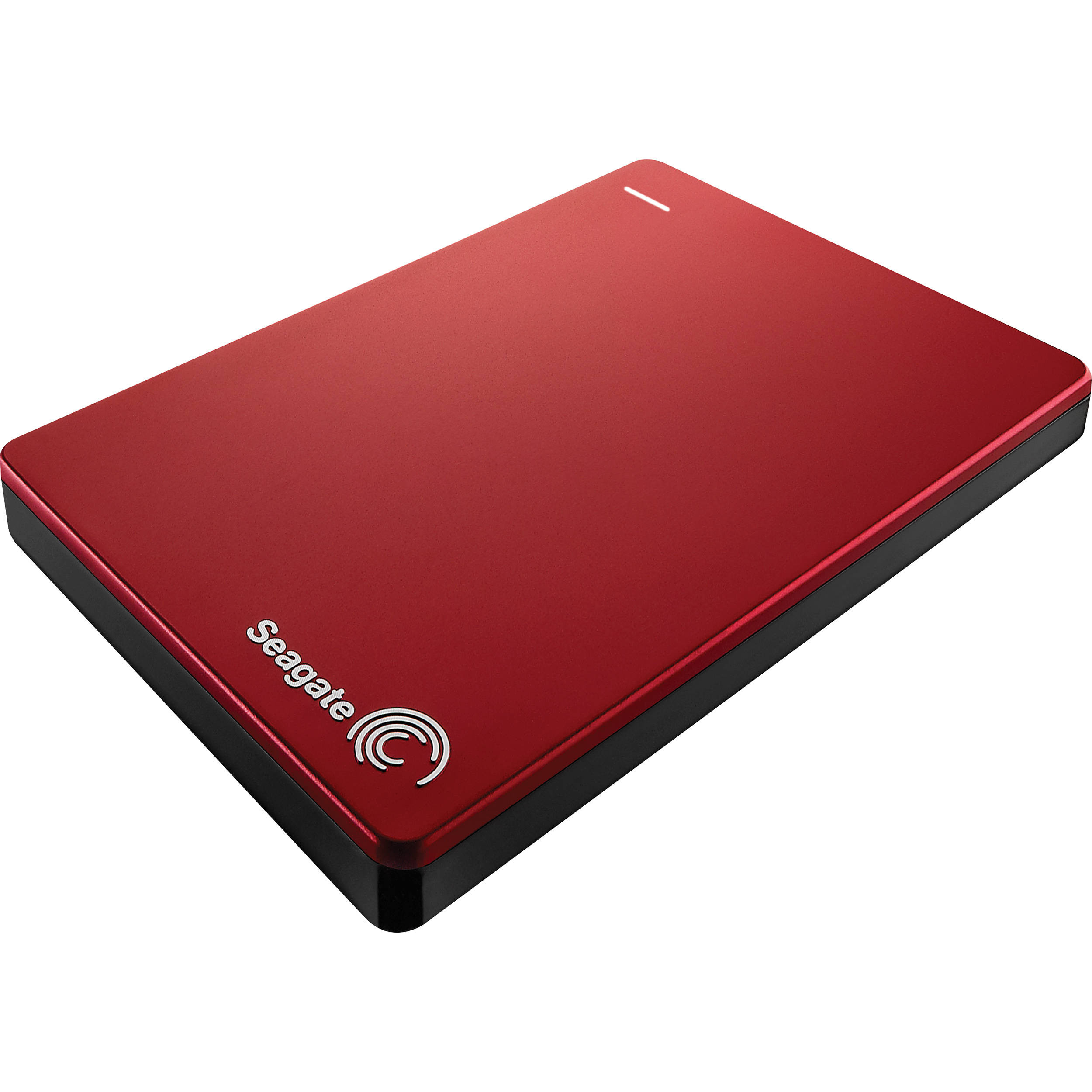 EXTERNAL 2TB SEAGATE BACKUP PLUS PORTABLE SLIM USB3 RED STDR2000103