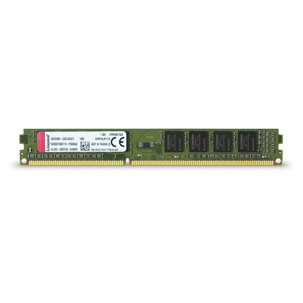 KINGSTON KVR 1600MHZ DDR3L 4GB CL11 KVR16LN11/4