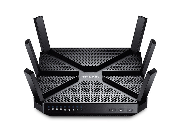 ROUTER TP-LINK WIRELESS 4PORT ARCHER C3200 GBIT 802AC TRI BAND AC3200