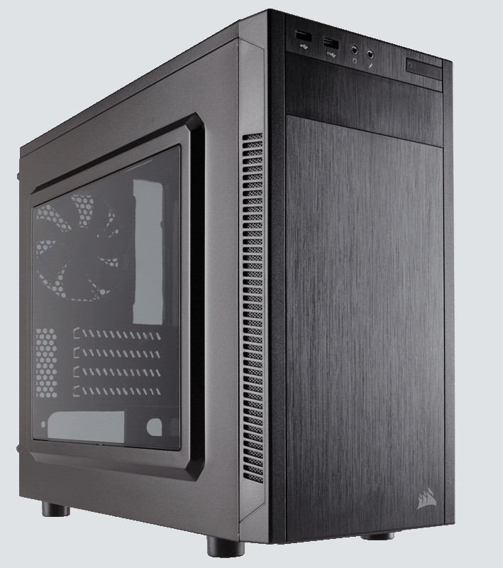CASE MICRO ATX CORSAIR CARBIDE 88R WINDOW BLACK