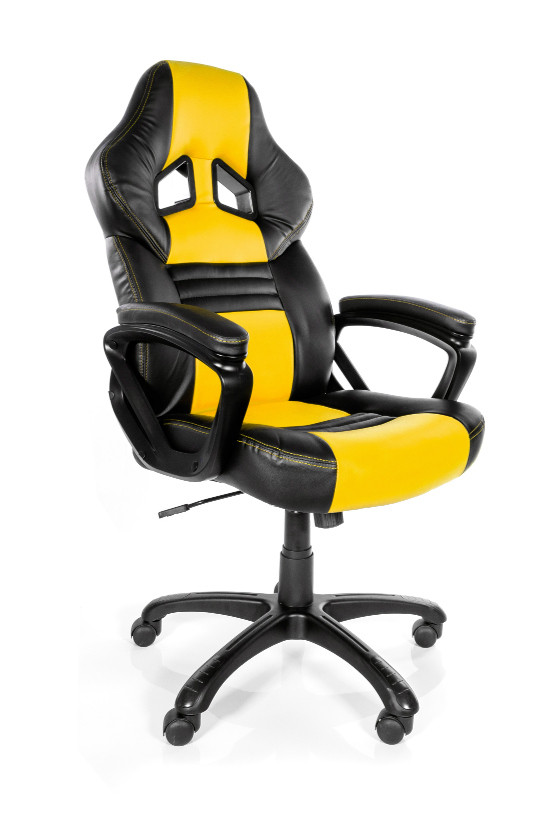 AROZZI MONZA GAMING CHAIR YELLOW/BLACK