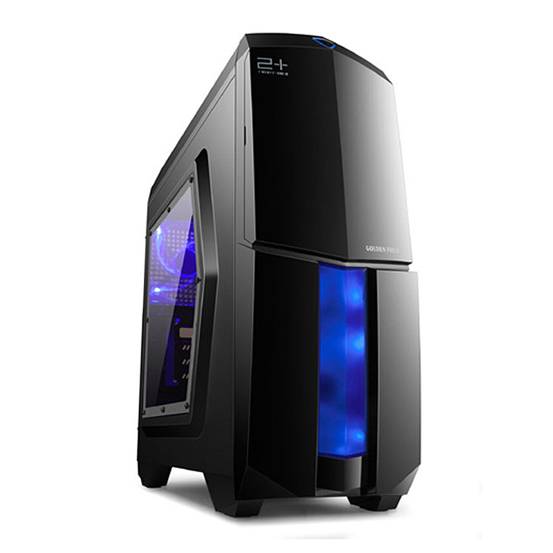 CASE MICRO ATX GOLDEN FIELD N8 21 BLACK NOPS USB3