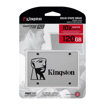 2.5 SATA3 120GB KINGSTON SSD UV400 SUV400S37/120G