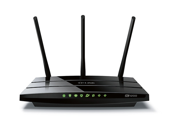 ROUTER TP-LINK WIRELESS 4PORT ARCHER C1200 GBIT 802AC DUAL BAND AC1200