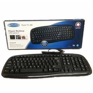 KEYBOARD TOPSYNC TS388 BLACK USB ENGLISH