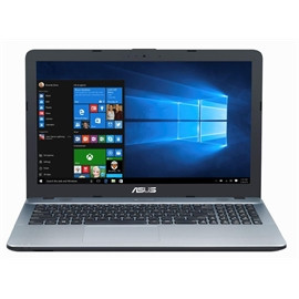 "LAPTOP ASUS X541NA-QP2ST-CB PENTIUM N4200 4GB 256GB SSD 15.6"" W10 ENGLISH"