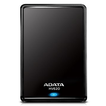EXTERNAL 1TB A-DATA HV620 2.5 USB3 BLACK AHV620-1TU3-CBK