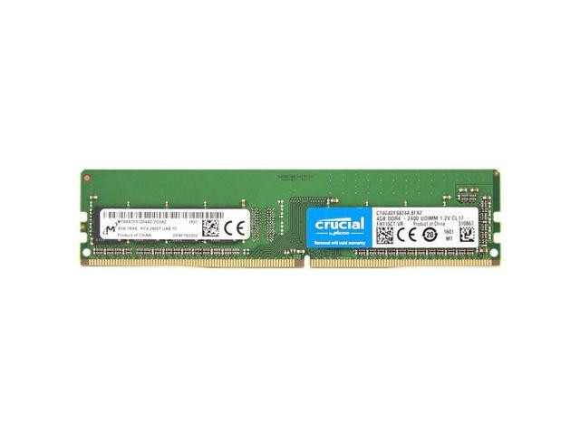 CRUCIAL 2400MHZ DDR4 4GB CL17 CT4G4DFS824A