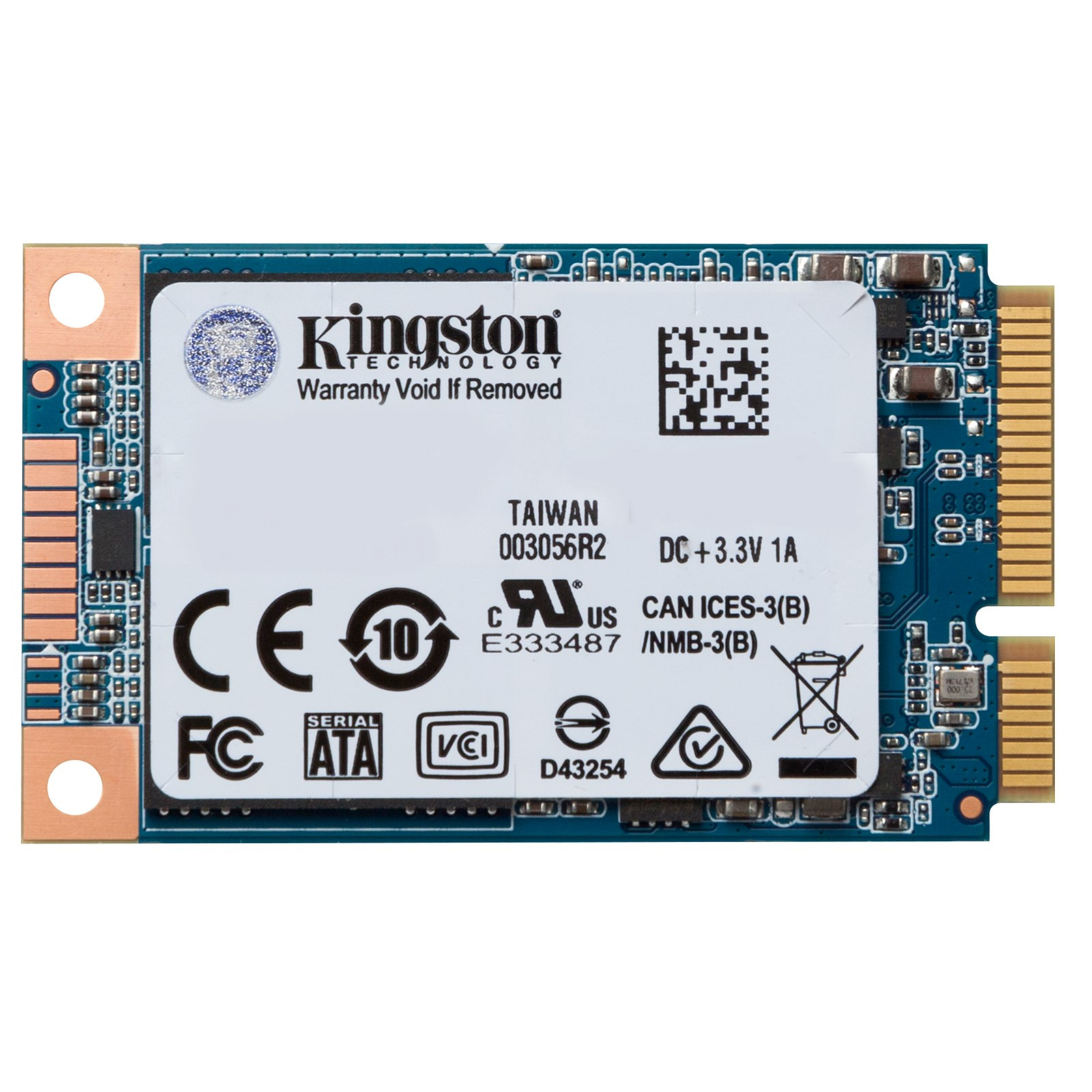MSATA SATA3 120GB KINGSTON SSD UV500 SUV500MS/120G