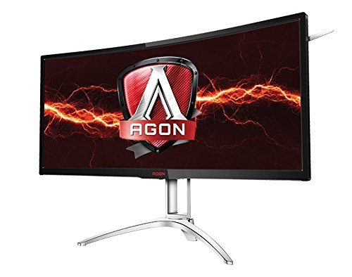 LCD 35IN AOC AGON AG352UCG6 CURVED LED 4MS BLACK 21:9 ULTRA WIDE 120HZ