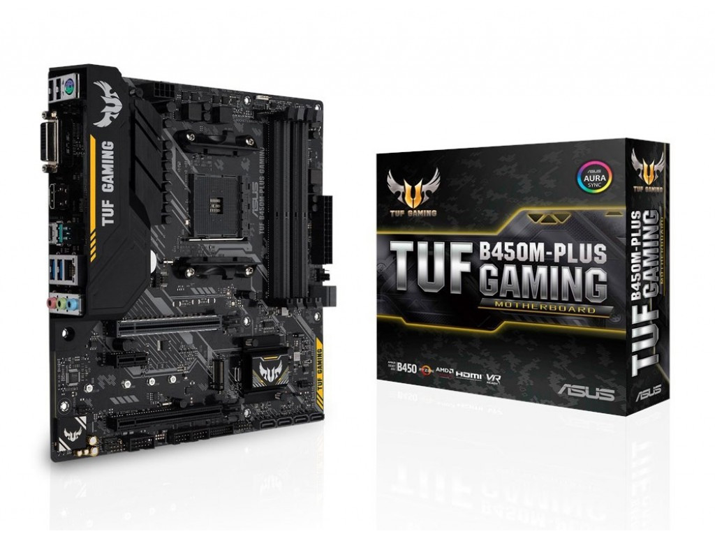 AM4 MICRO ATX ASUS TUF B450M-PLUS GAMING AMDB450