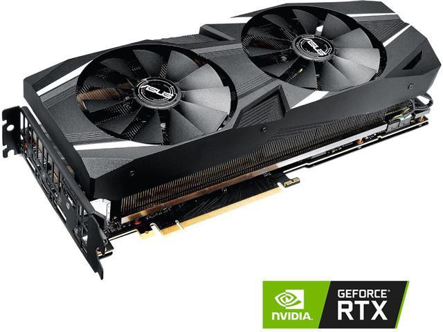 ASUS PCIE GEFORCE RTX 2070 DUAL OC 8GB GDDR6 3DP/HDMI