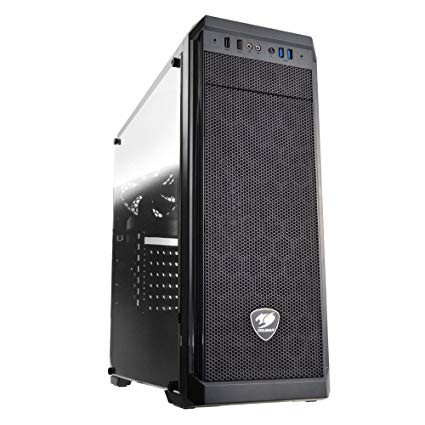 CASE ATX COUGAR MX330-G TG WINDOW BLACK