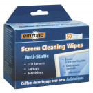 SCREEN CLEANING 50 WIPES EMZONE