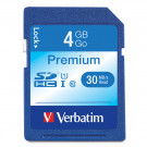 SD MEMORY CARD VERBATIM 4GB SDHC SD6