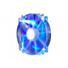 CASE FAN 200MM COOLER MASTER MEGAFLOW LED BLUE 110CFM 19DB