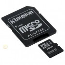 MICRO SD MEMORY CARD KINGSTON 16GB SDHC C4 SDC4/16GBCR