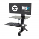 ERGOTRON WORKFIT-S SINGLE LCD HD SIT-STAND WORKSTATION 33-344-200