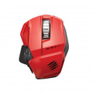MOUSE MAD CATZ WIRELESS R.A.T.M 6400DPI BLUETOOTH RED
