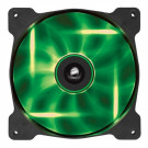CASE FAN 140MM CORSAIR SP140 HIGH STATIC PRESSURE 49.49CFM 29.3DB GREEN LED