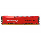 KINGSTON HYPERX SAVAGE 1866MHZ DDR3 4GB CL9 RED HX318C9SR/4