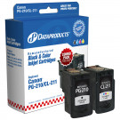 INK CANON 210 PG-210XL BLACK DATAPRODUCTS DPCPG210XLCA