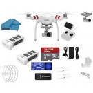 PHANTOM 3 PROFESSIONAL + 2 BATTERY + PROP GUARDS + 64GB MICRO SD + SHOULDER STRAP