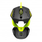 MOUSE MAD CATZ OPTICAL R.A.T.1 3200DPI BLACK/GREEN USB