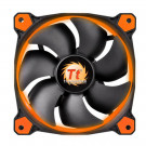 CASE FAN 120MM THERMALTAKE RIING 12 40.6CFM 26.4DB ORANGE LED