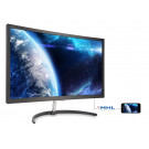 LCD 27IN PHILIPS 279X6QJSW/27 CURVED LED MVA 4MS BLACK 16:9