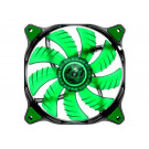 CASE FAN 120MM COUGAR CFD120 CF-D12HB-G 64.37CFM 16.6DB GREEN LED