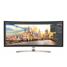 LCD 38IN LG 38UC99-W CURVED IPS LED 5MS BLACK 21:9 ULTRA WIDE