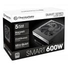 600W ATX THERMALTAKE SMART 80+ WHITE PS-SPD-0600NPCWUS-W