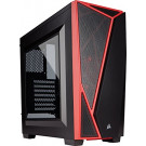 CASE ATX CORSAIR CARBIDE SPEC-04 BLACK/RED NOPS