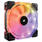 CASE FAN 140MM CORSAIR HD140 RGB LED PWM 74CFM 28.6DB DUAL PACK W/CTRL