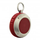 DIVOOM VOOMBOX-TRAVEL 3RD GEN BLUETOOTH WATERPROOF SPEAKER RED