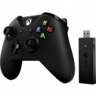 XBOX ONE MICROSOFT WIRELESS GAMEPAD WITH ADAPTER FOR WINDOWS 10 BLACK USB CWT-00001
