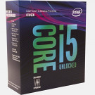 INTEL CORE I5 8600K 3.6G-4.3G/6C/6T/9MB/S1151 NO FAN