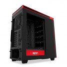 CASE ATX NZXT H440 BLACK/RED WINDOW NOPS