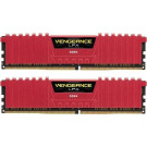 CORSAIR VENGEANCE LPX 3200MHZ DDR4 16GB KIT CL14 RED CMK16GX4M2B3200C14R