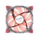 CASE FAN 120MM KOPPLEN SILENT RING RED 33 LED