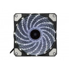 CASE FAN 120MM KOPPLEN SILENT RING WHITE 33 LED