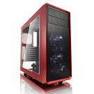CASE ATX FRACTAL FOCUS G WINDOW RED/BLACK NOPS USB3